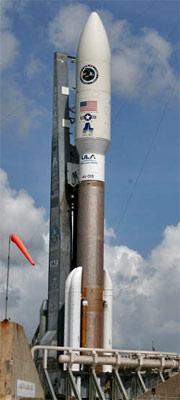 Forme des boosters sur un lanceur Atlas-5-531__aehf-1__1