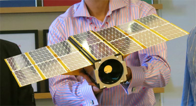 Planet Labs' Dove nanosat