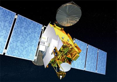 Vue d'artiste du satellite W2M