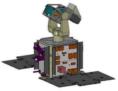 Minotaur 4 / SBSS 1 (lancement le 25/09/2010) Sbss-1__1