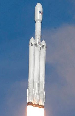 Falcon-Heavy - Gunter's Space Page